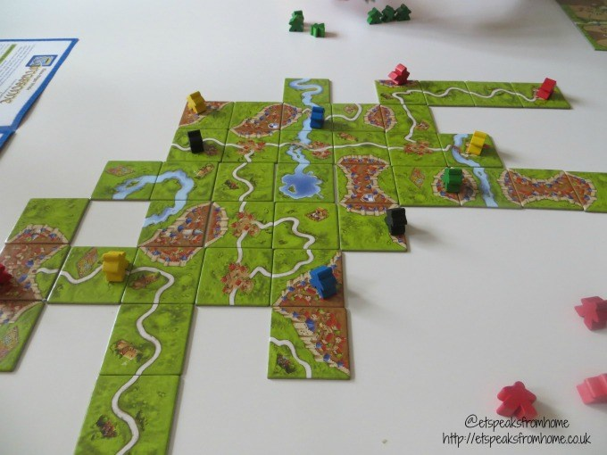 carcassonne game tiles