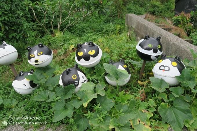 houtong cat village cat art