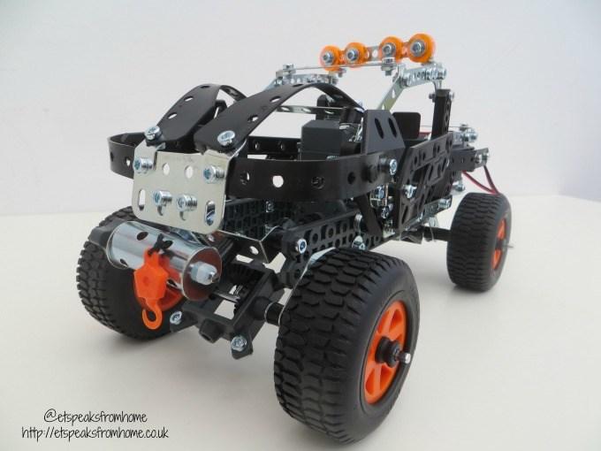 meccano 25 model 4x4 off road truck review