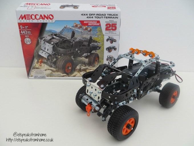 meccano 25 model 4x4 off road truck