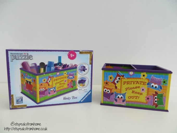 ravensburger 3d puzzle funky owl vanity box