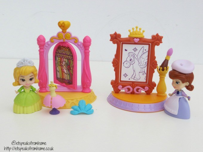 sofia the first 3 inch playset