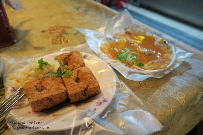 stinky tofu oyster omelette