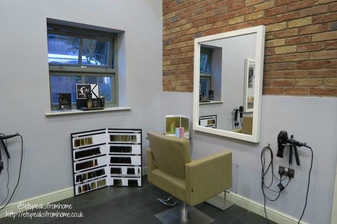 anthony john salons hair colour