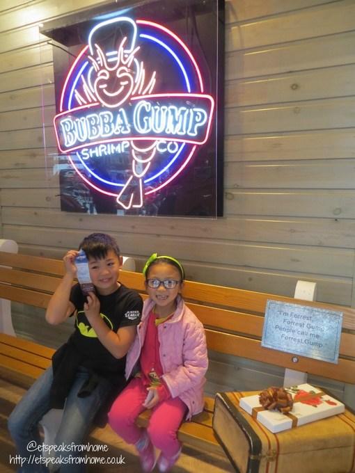 bubba gump shrimp co chocolate