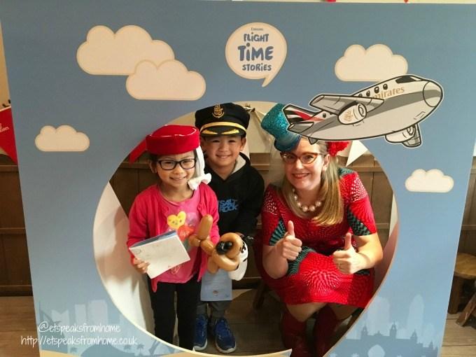 emirates flight time stories with sarah