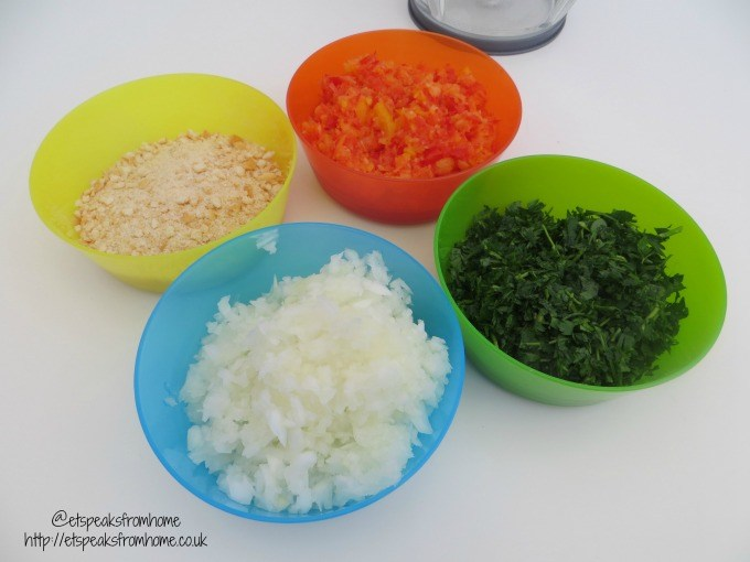 judge mini chopper ingredients