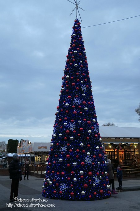 drayton manor magical christmas tree