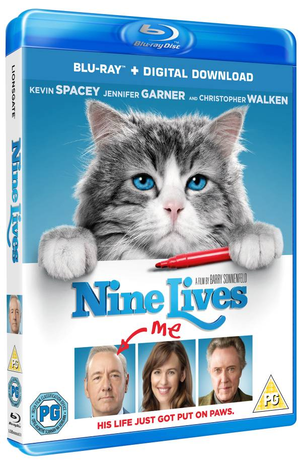 Nine Lives blu ray