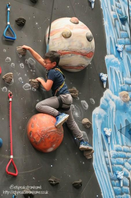 center parcs indoor rock climbing