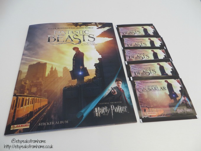 fantastic beasts sticker album