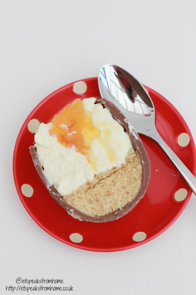 my bake 2016 easter egg cheesecake