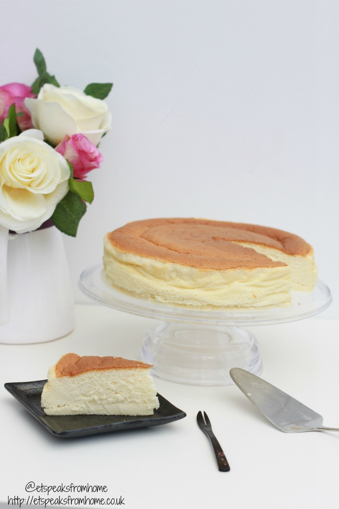 my bake 2016 japanese cotton cheesecake