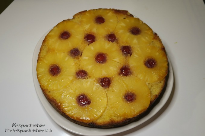 my bake 2016 upside down pineapple cake