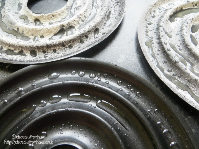 Kransekake pan oil and flour