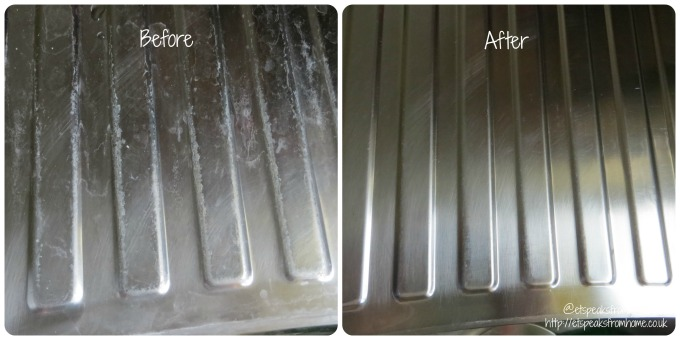 bar keepers friend power cream before after