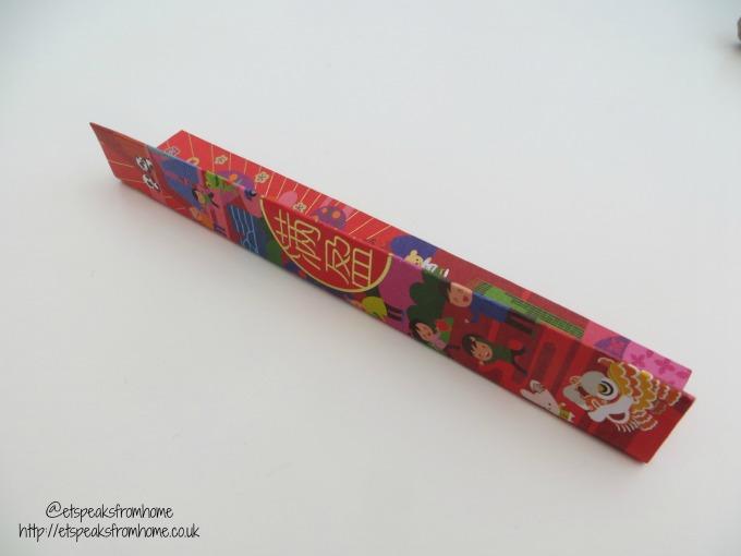 chinese new year ang pow fan fold
