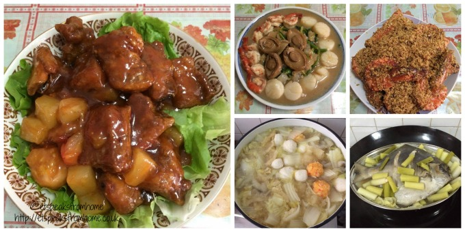chinese new year traditions food