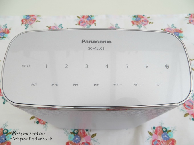 panasonic wireless speaker system panel