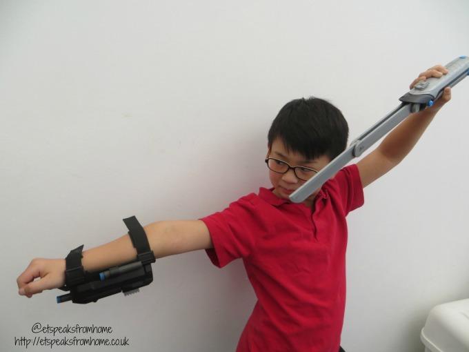 Spy Gear Ninja Sword & Wrist Blaster from Spin Masters