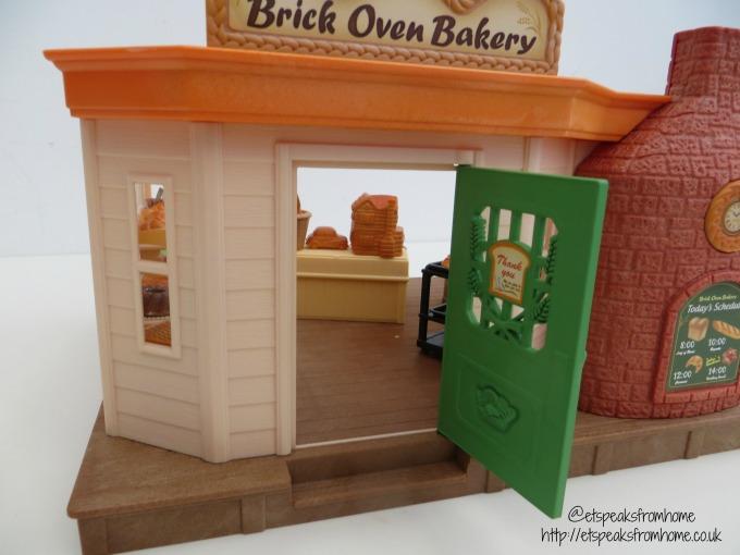 Sylvanian Families brick oven bakery front door
