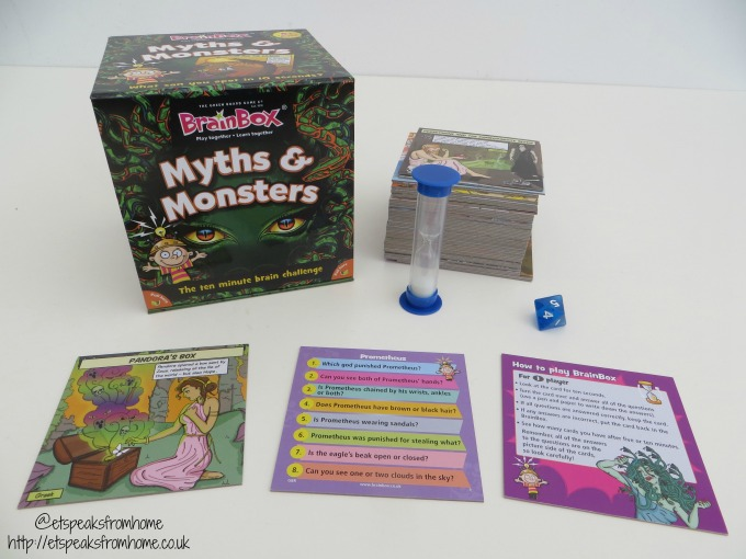 brainbox myths & monsters review