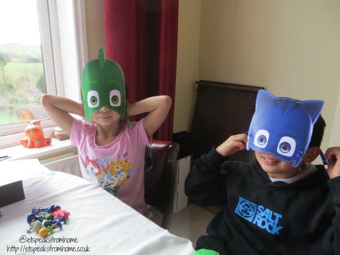 pj masks twitter party masks