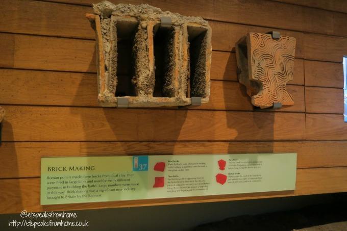 roman baths review brick making