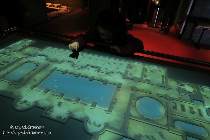 roman baths review interactive map