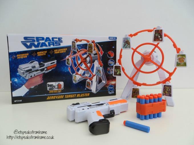 space wars aerovane target blaster review