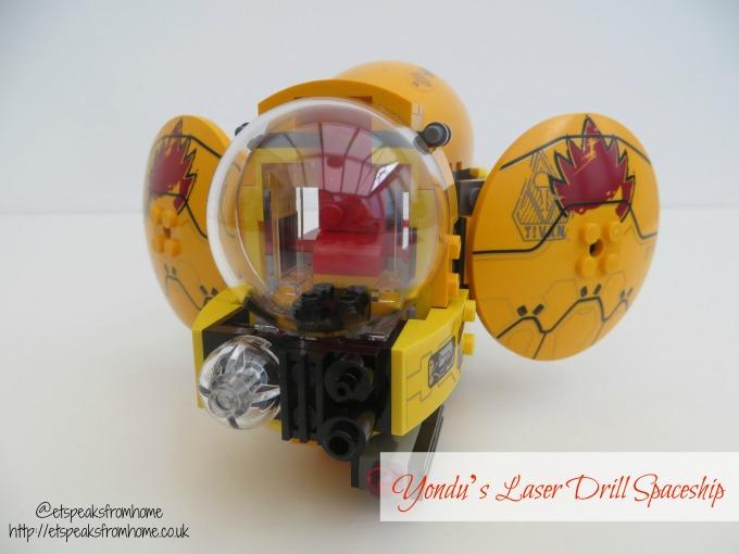 LEGO MARVEL Super Heroes Ayesha's Revenge Yondu's Laser Drill spaceship