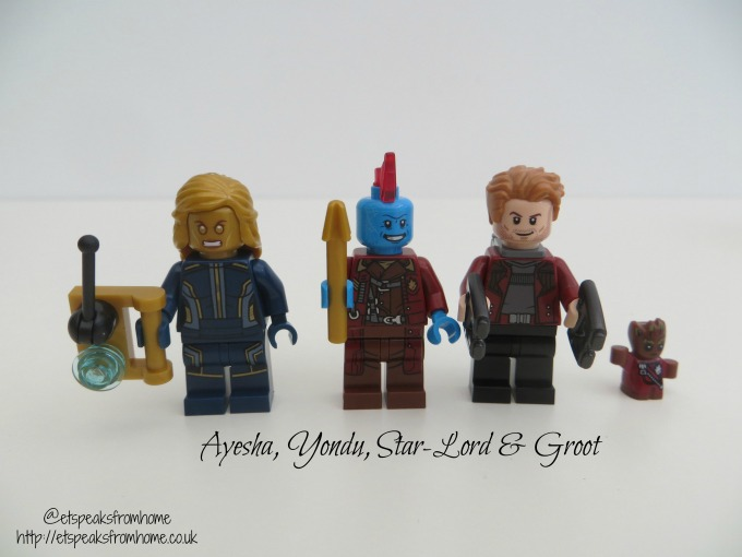 LEGO MARVEL Super Heroes Ayesha's Revenge characters