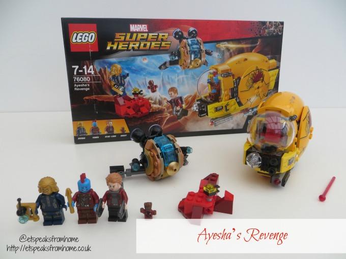 LEGO MARVEL Super Heroes Ayesha's Revenge