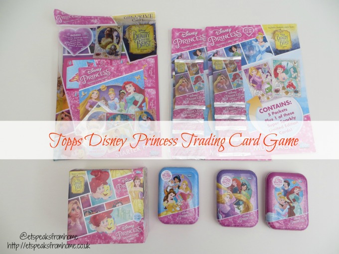 Topps Disney Princess Trading Card Game