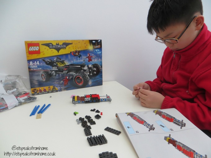 lego the batmobile building