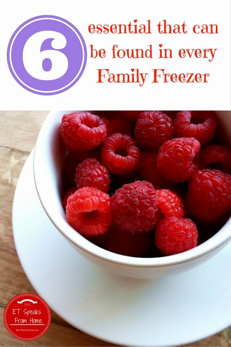 6 Essentials That Can Be Found in Every Family Freezer
