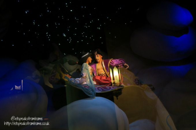 A Weekend at Disneyland Paris aladdin