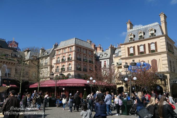 A Weekend at Disneyland Paris ratatouille