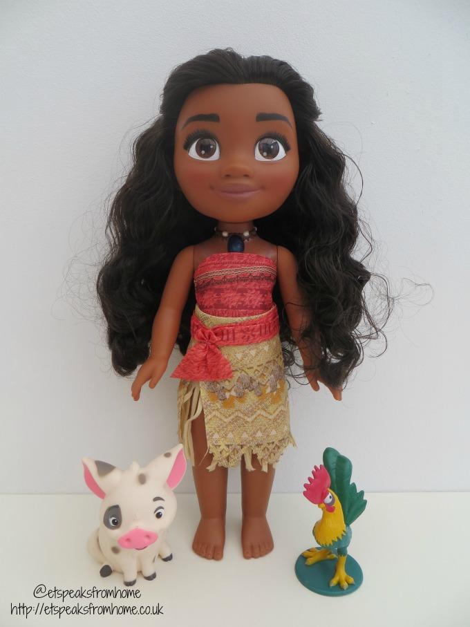 Jakks Pacific singing Moana doll
