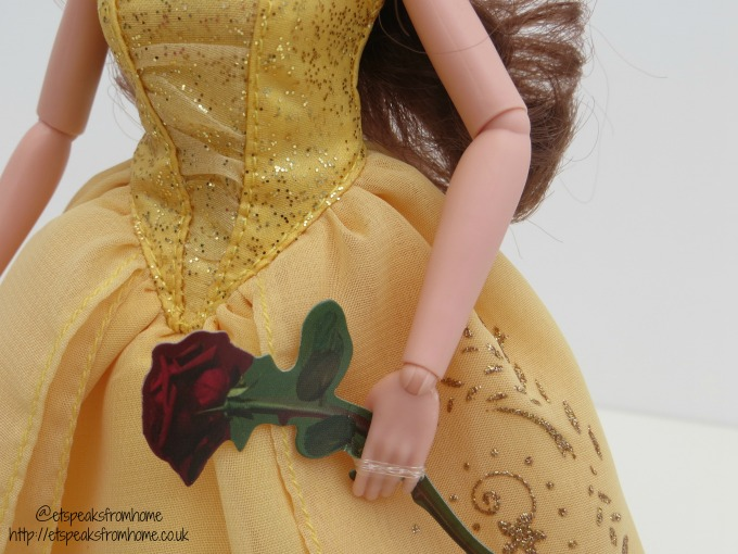 beauty and the beast belle enchanting gown