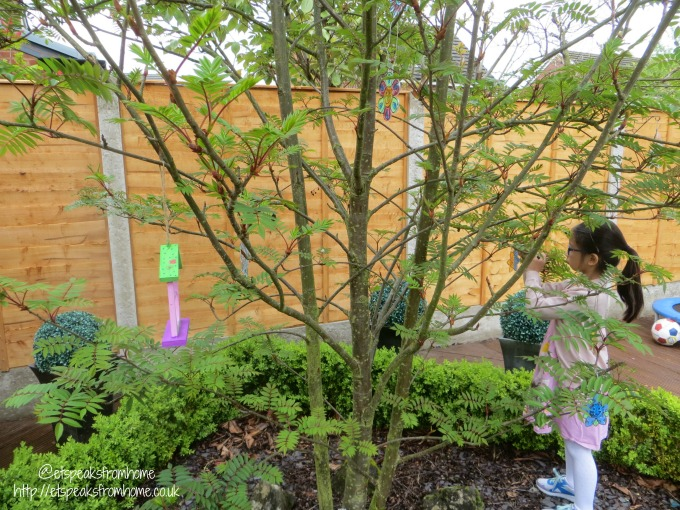 Add colour to my Garden – After Transformation sun catcher