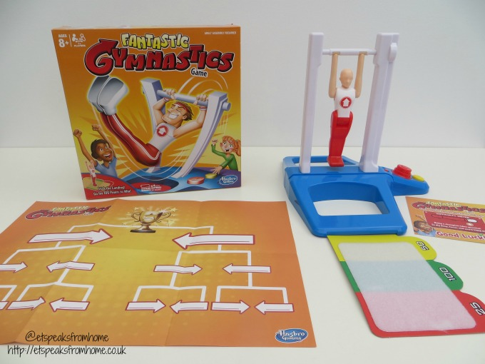 fantastic gymnastics. hasbro fantastic gymnastics game review s