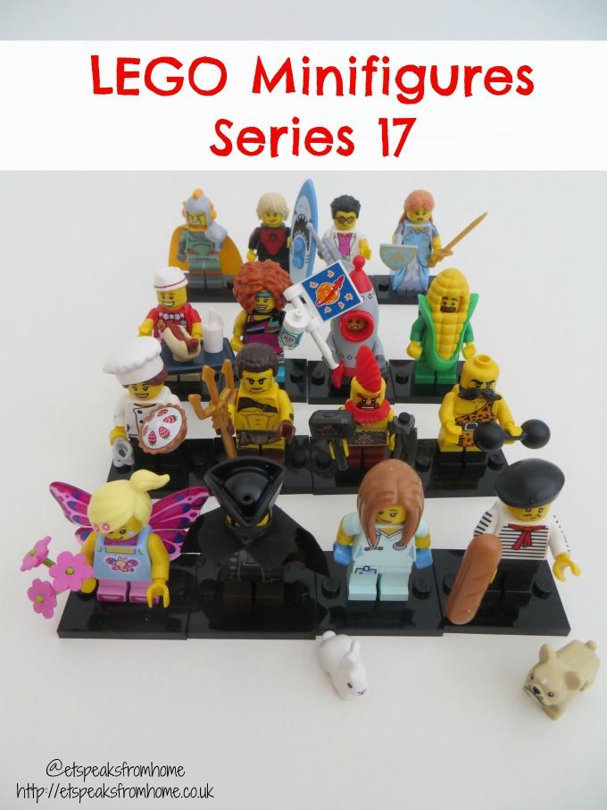 Lego Minifigures Series 17 big reveal