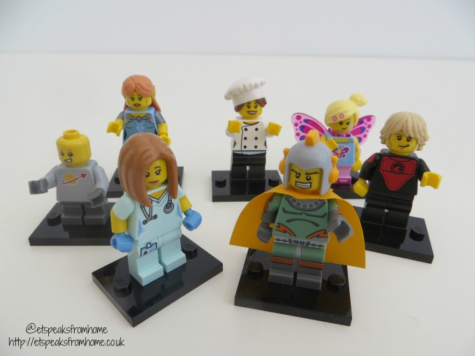 Lego Minifigures Series 17 characters