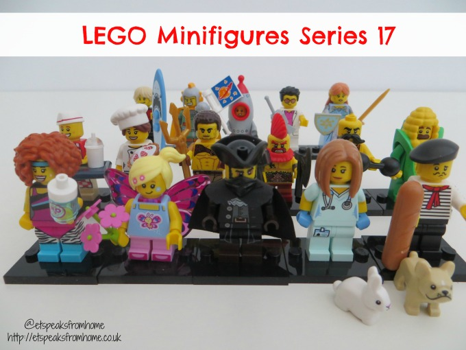 Lego Minifigures Series 17 review