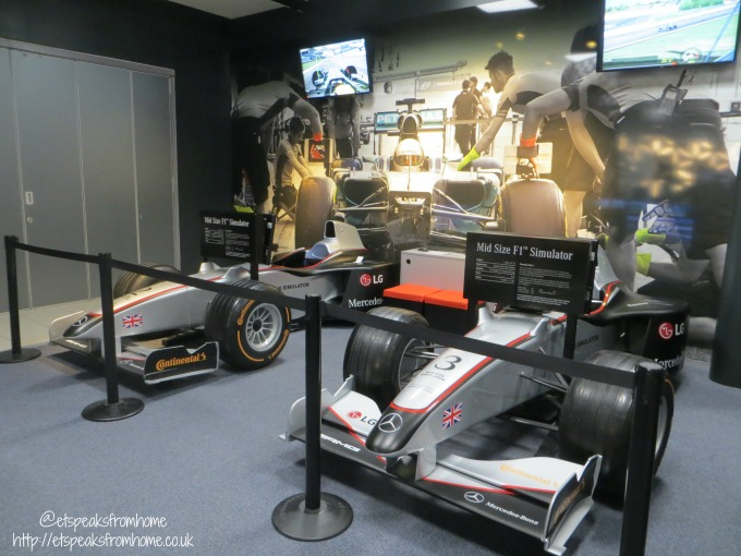 Mercedes-Benz World level 3 micro simulator