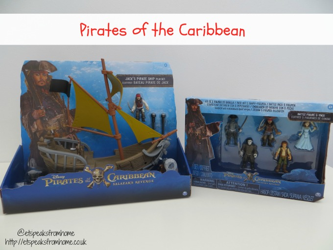 Spin Master Pirates of the Caribbean Toys