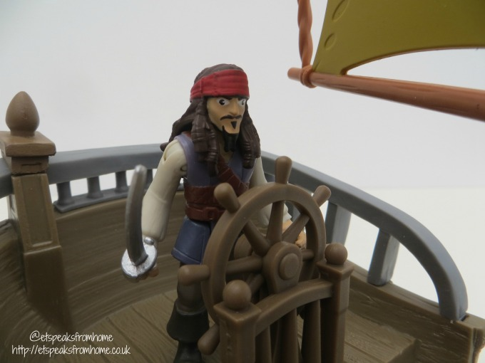 Spin Master Pirates of the Caribbean jack sparrow