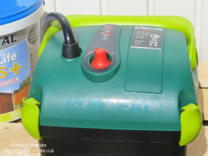 ronseal precision finish power sprayer