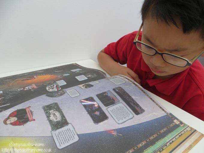 star wars 40th anniversary Galactic Atlas reading